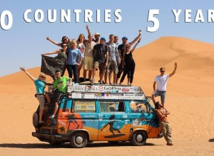Bus Around The World - 50 countries in 5 years - VANLIFE